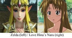 More original Zelda hair