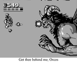 Favorite Boss The Final Battle With Orcos Is Pretty Dang Epic And Almost Reminds Me Of Super Kraid This Something A Major Achievement On